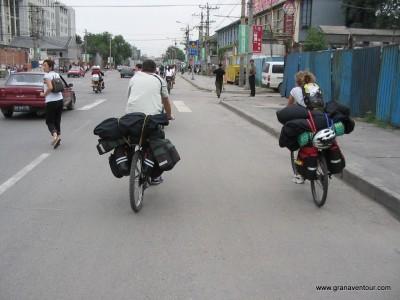 Viaje cicloturista por china