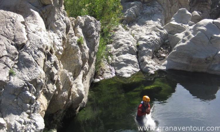 Descenso de Barrancos, Río Benahabí