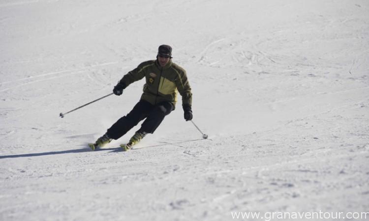 clases esquí en sierra nevada