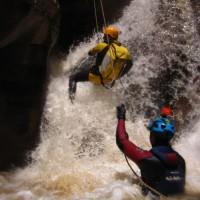 barranquismo rio trevelez