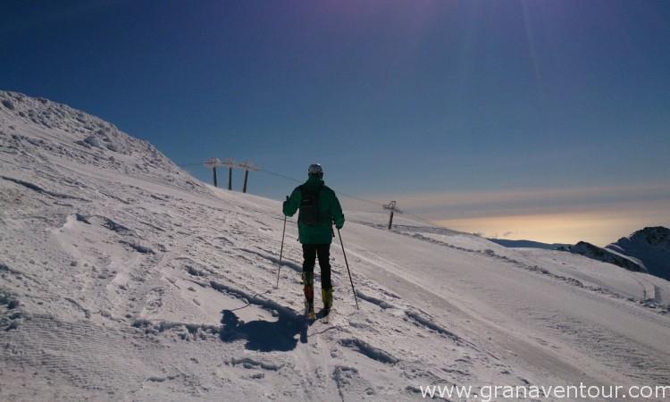 esqui de travesia