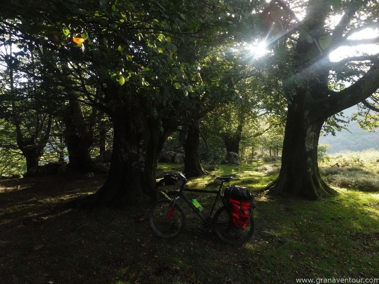 viaje cicloturista