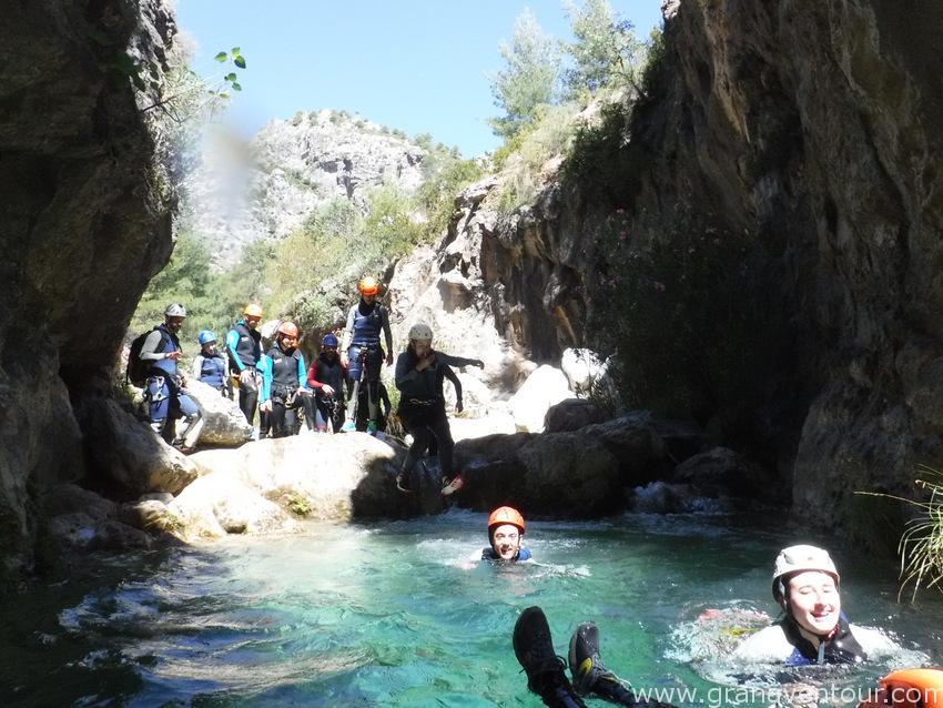 barranquismo rio verde