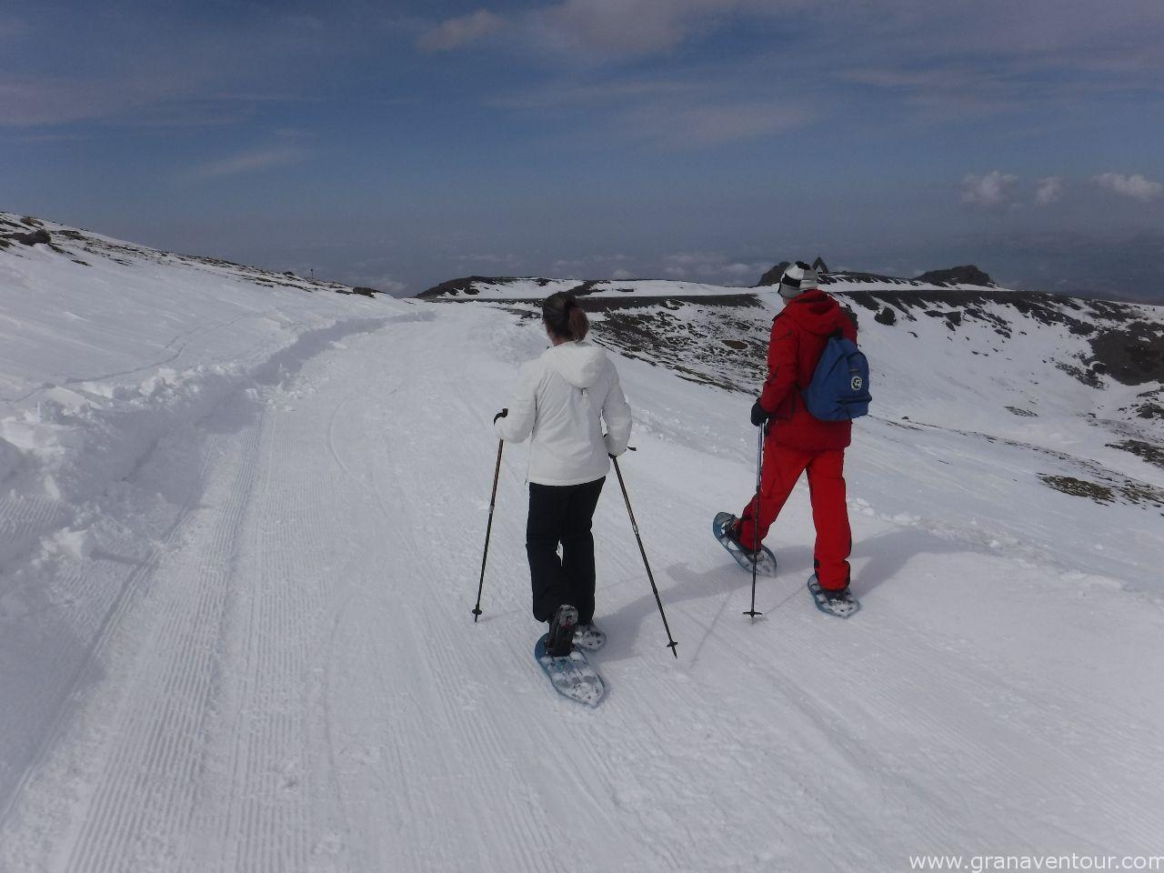 raquetas de nieve sierra nevada