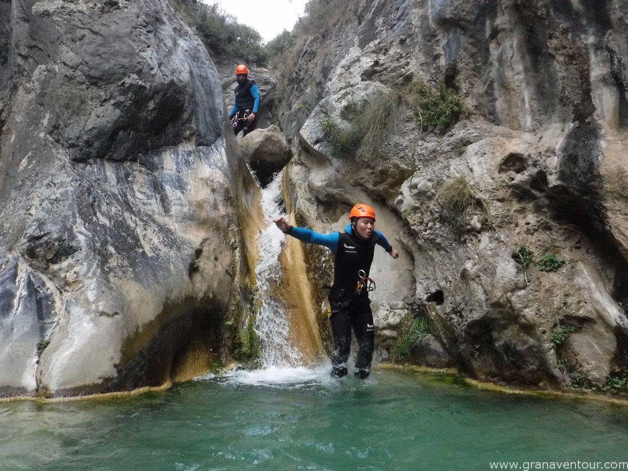 barranquismo rio lentegi
