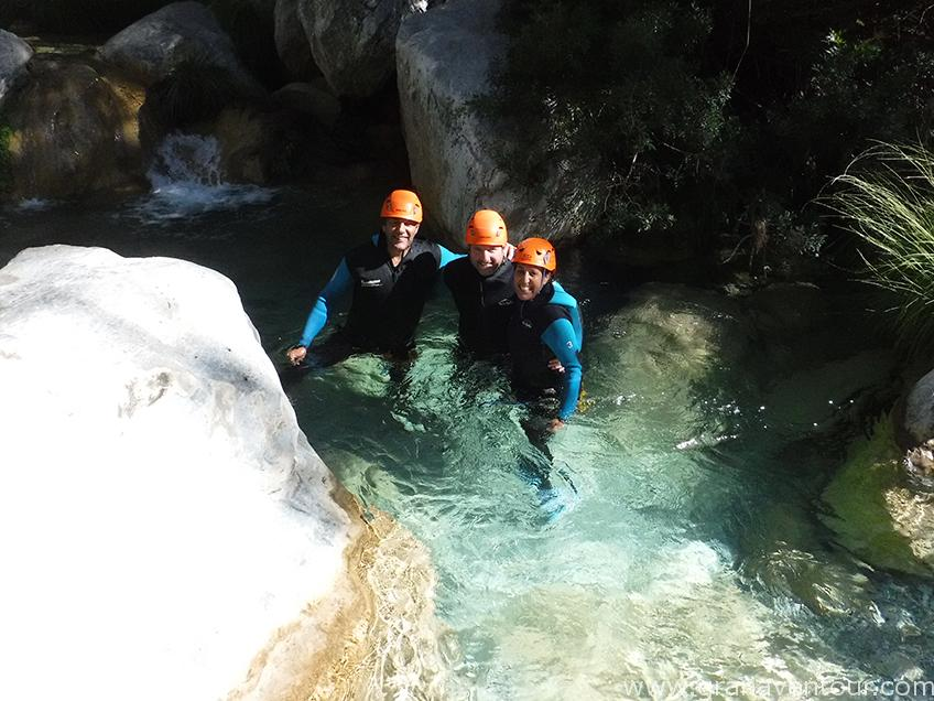 barranquismo río verde