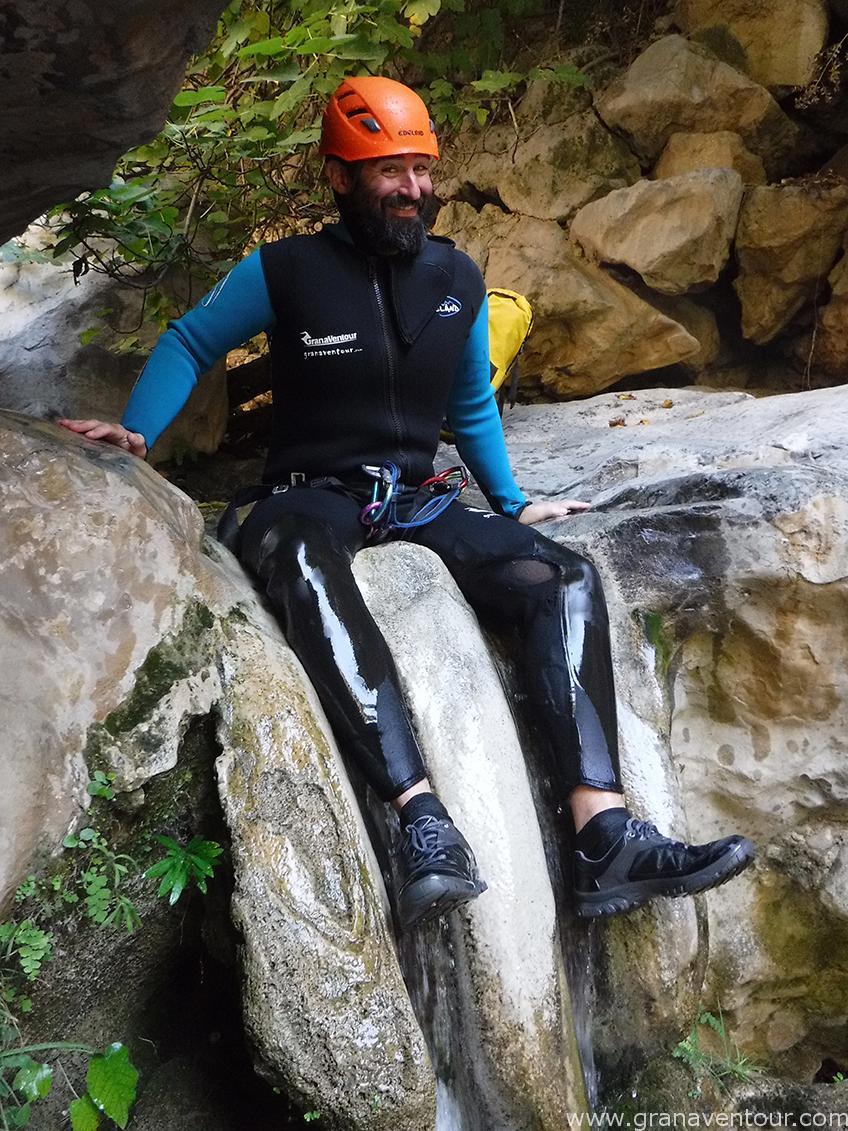 barranquismo río lentegí